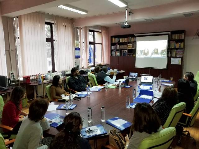 First project meeting in Vaslui WOMEMP